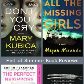 Four End-of-Summer Books | Reviews