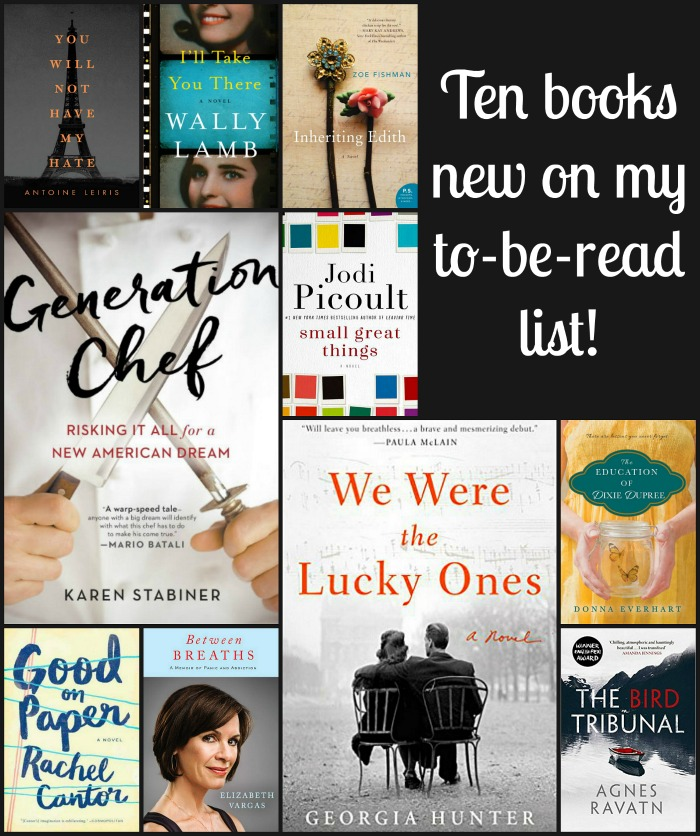 Books New to My TBR List - A look at interesting books that I've recently added to my large to-be-read pile. Selections include both fiction and nonfiction options.
