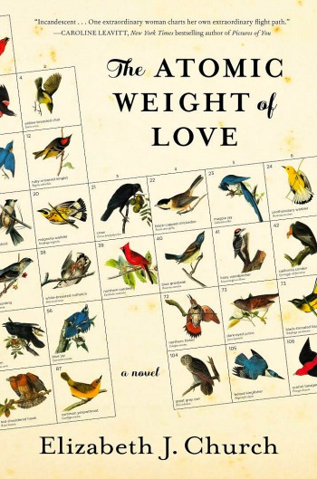 The Atomic Weight of Love by Elizabeth J. Church - This is Meridian's story as she fights to be her own woman, apart from her husband, in a time where that was difficult.