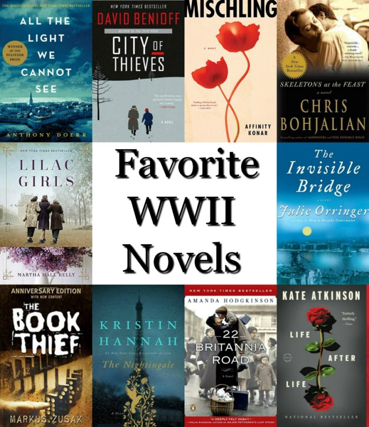 Favorite WWII Novels - A look at some favorite novels about World War II and the people who struggled to survive it.