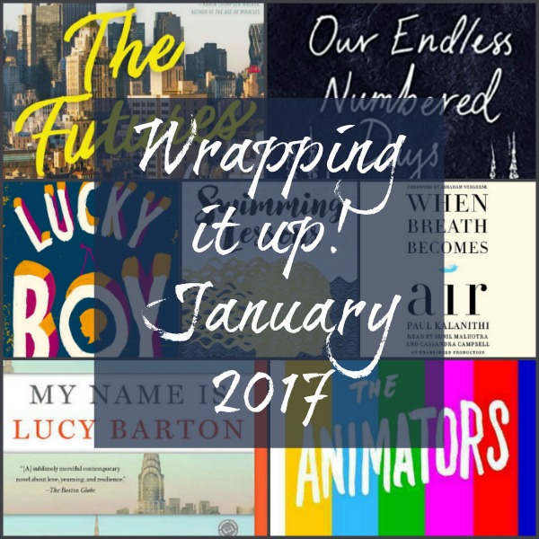 Wrapping it Up! January 2017  - Monthly wrap-up for January 2017 on Novel Visits.