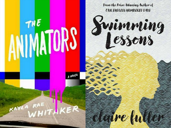 The Animators and Swimming Lessons cover shots