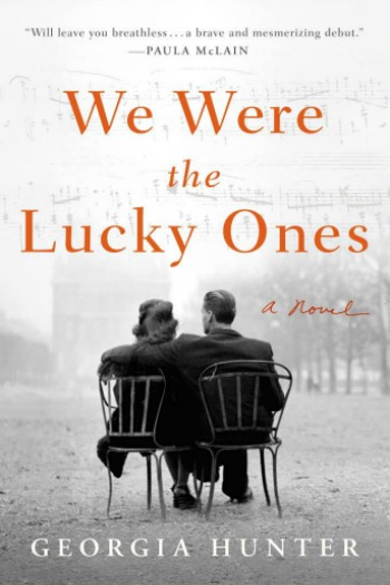 Cover of We Were the Lucky Ones by Georgia Hunter.