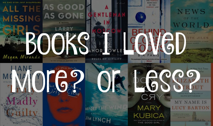 10 books i loved more or less reviews novel visits for Less is more boek
