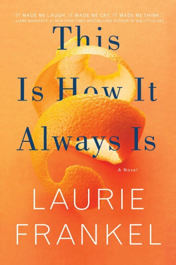 This Is How It Always Is by Laurie Frankel - A lovely story exploring a family who's youngest son is clear that wants to wear dresses and play princess.