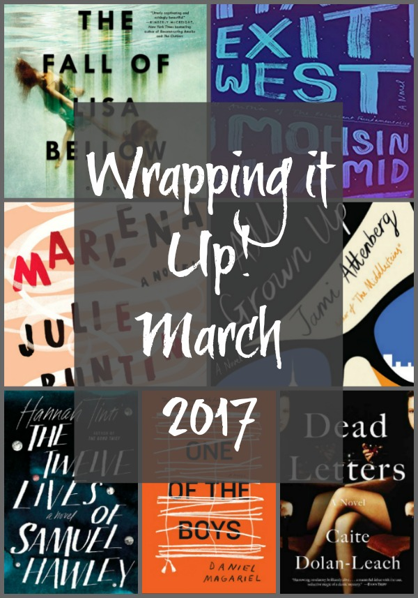 Wrapping up March 2017 on Novel Visits! A look back at all the books read and reviewed, as well as other book related posts and the best book of the month.
