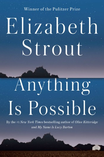 Anything Is Possible by Elizabeth Strout - The companion piece to the much loved My Name Is Lucy Barton, where we meet some of the people from Lucy's hometown.