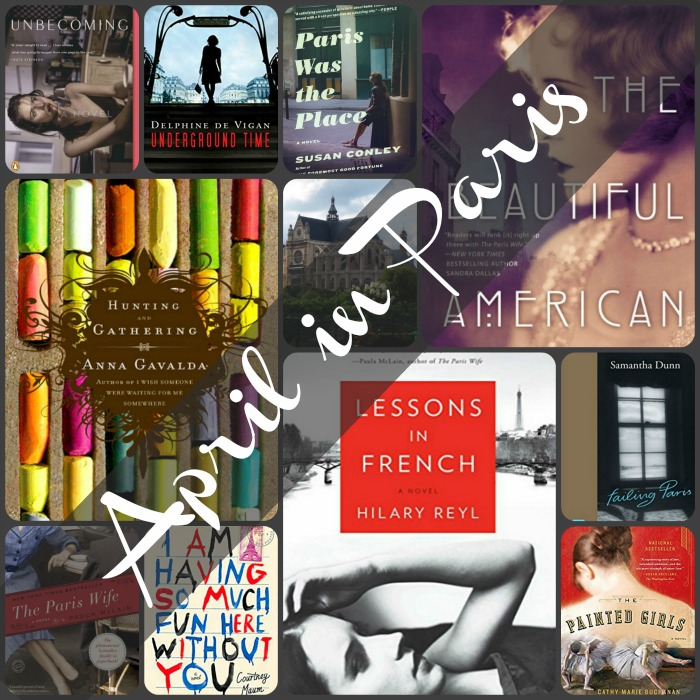 April in Paris - Can't make it to Paris this spring? Take the journey with books set in the City of Light. Here are ten that will transport you there.