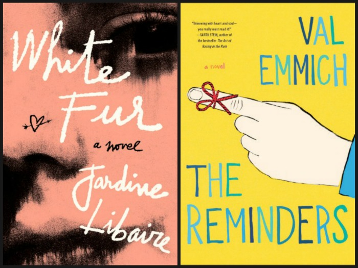 White Fur by Jardine Libaire and The Reminders by Val Emmich
