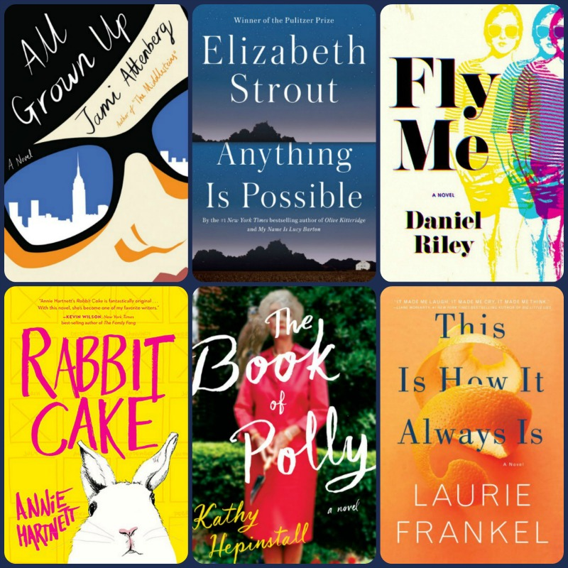 Collage of 6 Books from 2017 Summer Reading - Quirky and Fun