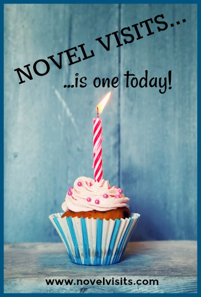 Novel Visits Turns One - On the first anniversary of launching Novel Visits, a look at lessons learned, both wonderful and tough, and a look at what's on the horizon for the blog.