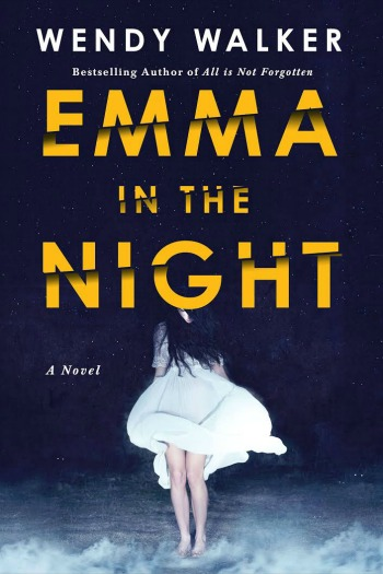Emma in the Night by Wendy Walker - A great new psychological thriller. One very dysfunctional family. Two sisters who vanish. Three years later only one sister returns.